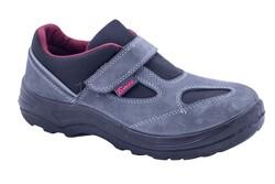 Bmes S1 Süet Deri Çelik Burunlu Cırtlı İş Ayakkabısı - Thumbnail