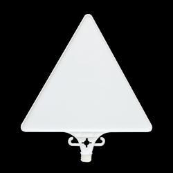 Üstün - Boş Üçgen Uyarı Levhası – UT 2800