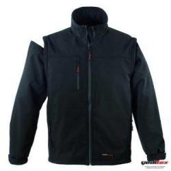 Coverguard - Coverguard 5YAND Kolları Çıkabilen Softshell Ceket