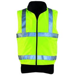Coverguard - Coverguard 7050 Hi-Way Polyester Polar Astarlı Yelek