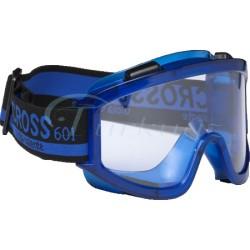 Essafe - Cross 601 Clear Tam Koruma Gözlük - Buğulanmaz Şeffaf - GE1160-4