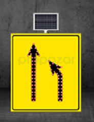 MFK - Daralan Yol Sağ Yoldan Sol Yola Sarı Zemin MFK1437