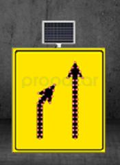 MFK - Daralan Yol Sol Yoldan Sağ Yola Sarı Zemin MFK1436