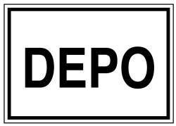 Propazar - Depo İş Güvenliği Levhası - Tabelası