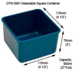 Detectamet - Detectable Algılanabilir ürün Kabı DTM0891 2 adet