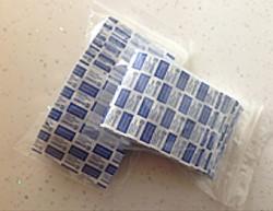 Detectamet - Detectable DTM 1103 Algılanabilir Yara Bandı Mavi 400 Adet