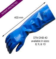 Detectamet - Detectable DTM DNB 40 Algılanabilir Nitril Eldiven -3 Çift