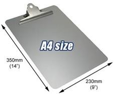 Detectamet - Detectamet DTM 0911 A4 İçin Alüminyum Board (Klipsli) 2 li Paket