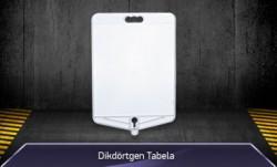 Dikdörtgen Tabela - Duba Üstü Reklam Tabelası - MFK9300 - Thumbnail