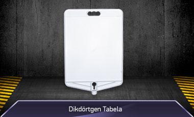 Dikdörtgen Tabela - Duba Üstü Reklam Tabelası - MFK9300
