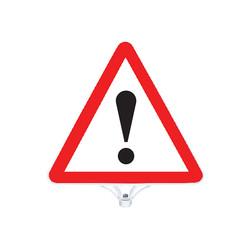 Dikkat Uyarı Tabelası Çift Taraflı MFK9202 - Thumbnail