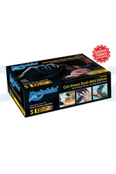 Dolphin - Dolphin Gıdaya Uygun Çok Amaçlı Siyah Nitril Eldiven 100lü Paket
