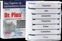 Dr Plus - Dr Plus İlaç Saklama Kutusu Haftalık 7x24