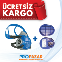 Drager - Drager 3300 Maske ve ABEK1 Filtre Seti