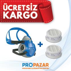 Drager - Drager 3300 Maske ve P3 Toz Filtre Seti