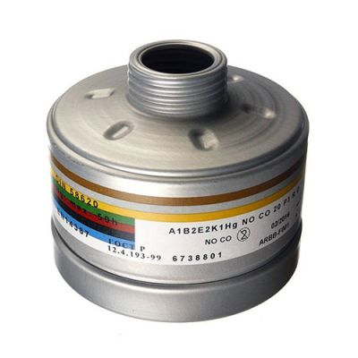 Drager A1B2E2K1 HG CO NO P3 D Rd 40 Vidalı Filtre - 6738801