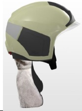Drager - Drager HPS 7000 İtfaiyeci Bareti Aluminyum Enselikli