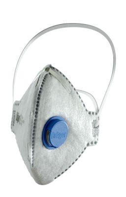 Drager X-Plore 1720 FFP2 Ventilli Odour Aktif Karbon Toz Maskesi