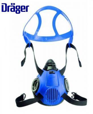 Drager X-Plore 3500 Çift Filtreli Yarım Yüz Maskesi