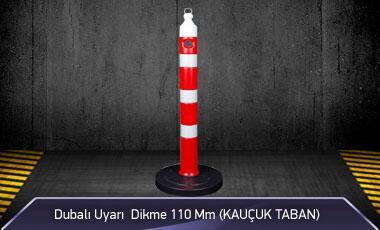 Dubalı Uyarı Dikme 110mm Kauçuk Tabanlı MFK1026 - 4125