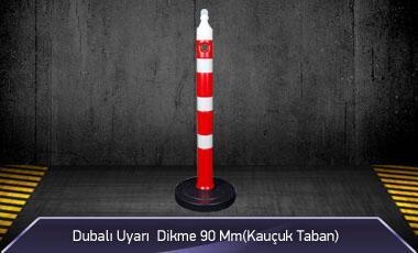 Dubalı Uyarı Dikme 90mm Kauçuk Tabanlı MFK1022 - 4095