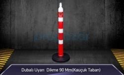 MFK - Dubalı Uyarı Dikme 90mm Kauçuk Tabanlı MFK4095