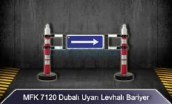 MFK - Dubalı Uyarı Levhalı Bariyer MFK7120