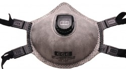 Ege - EGE 3021 Ventilli FFP2 Aktif Karbon Toz Maskesi