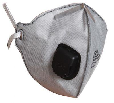 EGE 4023 Ventilli FFP2 Aktif Karbon Toz Maskesi