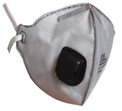 Ege - EGE 4023 Ventilli FFP2 Aktif Karbon Toz Maskesi