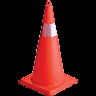 EKO Kırılmaz Trafik Konisi 750 mm (Tek Reflektifli) – UT 5010