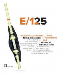 EKS - EKS E/125 Pozisyon Alma Kemeri