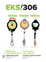 EKS - EKS YOYO - 306 Geri Sarımlı Düşüş Tutucu