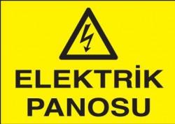 Propazar - Elektrik Panosu Levhası - Tabelası