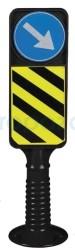 MFK - Esnek Refüj Başı Tabelası 950 mm MFK 2195