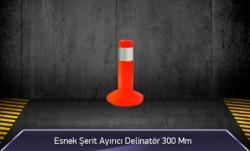 MFK - Esnek Şerit Ayırıcı Delinatör 300 mm MFK2030
