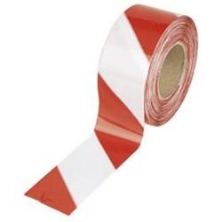 Essafe - Essafe 1801 İkaz Şeridi - Kırmızı Beyaz Uzunluk 500 mt