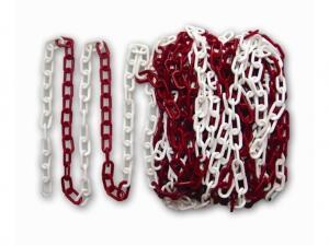 Essafe GE 6000 Plastik Zincir - Kırmızı Beyaz