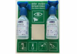 Essafe - Essafe GE1740-2 Aynalı Kimyasal Göz Solüsyonu İstasyonu