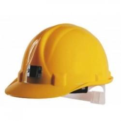 Essafe - Essafe Hava Delikli Kulaklık Takılabilir Vidalı Madenci Bareti - GE1584