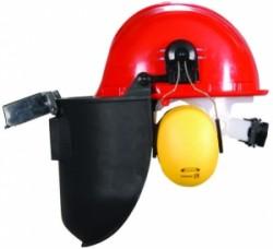 Essafe - Essafe Vidalı Baret + Kulaklık + Slotlu Kaynak Maskesi - GE1280-5