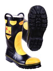 FyrPro - F2A Sarı-Siyah İtfaiyeci Çizmesi