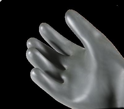 Faba H1-60 Siyah Düz Lateks 60cm Siyah Eldiven