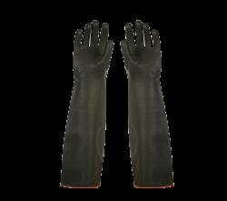 Faba H1-60 Siyah Düz Lateks 60cm Siyah Eldiven - Thumbnail