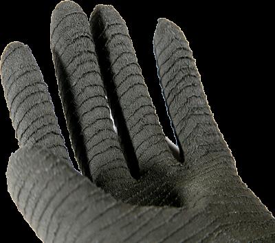 Faba H2-45 Lateks Tırtıklı 45cm Siyah Eldiven