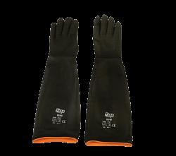 Faba - Faba H2-60 Siyah Tırtıklı Lateks 60cm Siyah Eldiven