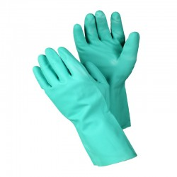 Faba - FABA RNU 22-18 46cm Yeşil Nitril Kimyasal ve Asit Eldiveni