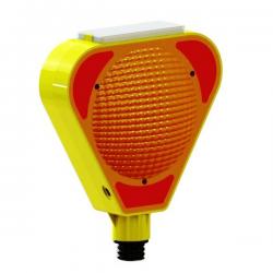 Üstün - MFK 1204 Flaşörlü Uyarı Lambası Sarı