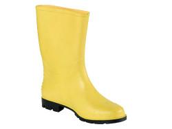 Gezer - Gezer Sarı PVC Çizme
