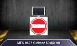 MFK - Girilmez Güneş Enerjili Flaşörlü Ledli Levha MFK9627